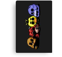 Five Nights at Freddy's 3 - Pixel art - Good Ending Canvas Print