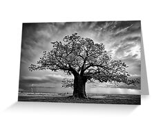 Lightning Flashes Greeting Card