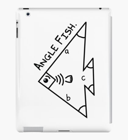 Angle fish - parody iPad Case/Skin