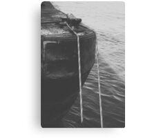 Corner Barge Canvas Print