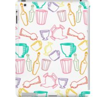 Dishes color pattern iPad Case/Skin