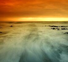 Winter sun St Johns Point by Gary Power