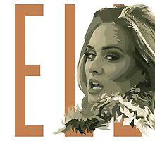 Adele Hello by peatreebojangle