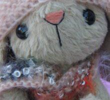 Handmade bears from Teddy Bear Orphans Becca Bunny Sticker