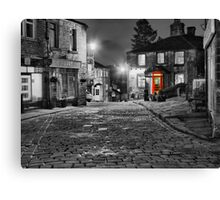 Haworth West Yorkshire - HDR Canvas Print