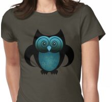 WHOOO! Womens Fitted T-Shirt