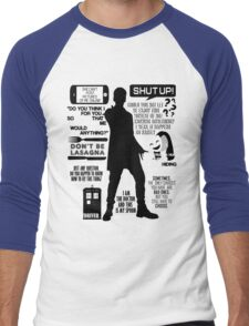 Doctor Who - 12th Doctor Quotes Men's Baseball ¾ T-Shirt