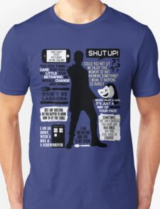 Doctor Who - 12th Doctor Quotes T-Shirt