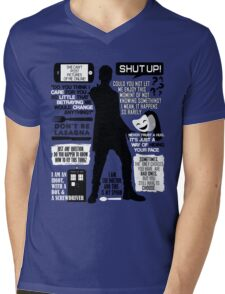 Doctor Who - 12th Doctor Quotes Mens V-Neck T-Shirt