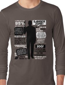 Archer - Sterling Archer Quotes Long Sleeve T-Shirt