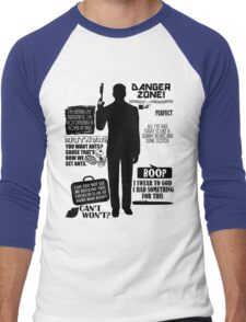 Archer - Sterling Archer Quotes Men's Baseball ¾ T-Shirt