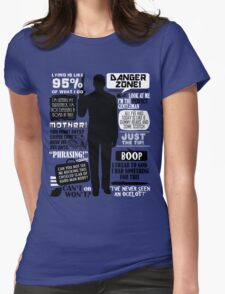 Archer - Sterling Archer Quotes Womens Fitted T-Shirt
