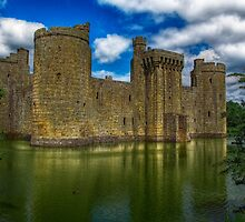 Bodiam Castle (National Trust) by theoldsmithy