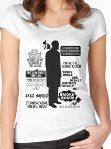 Archer - Dr. Algernop Krieger Quotes Women's Fitted Scoop T-Shirt