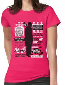 Archer - Dr. Algernop Krieger Quotes Womens Fitted T-Shirt