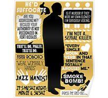 Archer - Dr. Algernop Krieger Quotes Poster