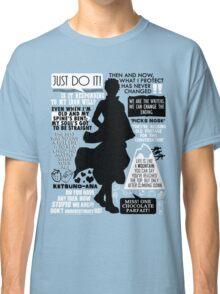 Gintama - Sakata Gintoki Quotes Classic T-Shirt