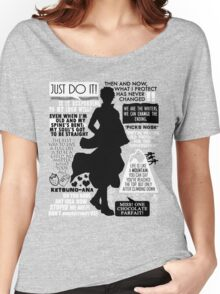 Gintama - Sakata Gintoki Quotes Women's Relaxed Fit T-Shirt