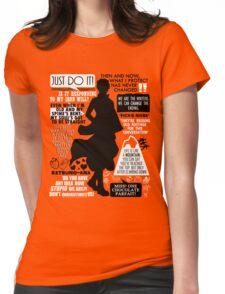 Gintama - Sakata Gintoki Quotes Womens Fitted T-Shirt