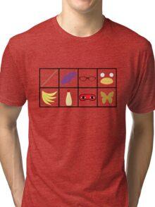 Gintama - Character Symbols Tri-blend T-Shirt