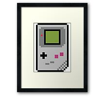 8 bit Gameboy Classic Framed Print