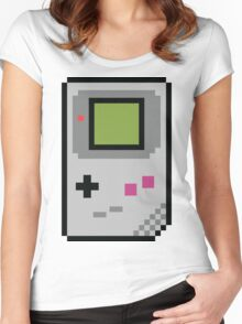 8 bit Gameboy Classic Women's Fitted Scoop T-Shirt