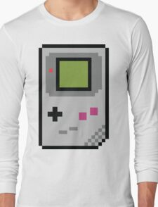 8 bit Gameboy Classic Long Sleeve T-Shirt