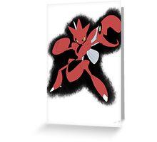 Scisor Greeting Card
