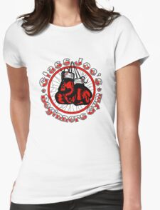 Glass Joe's Gym Womens Fitted T-Shirt
