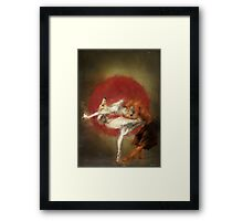fox ballet Framed Print