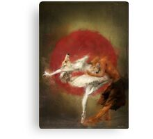 fox ballet Canvas Print