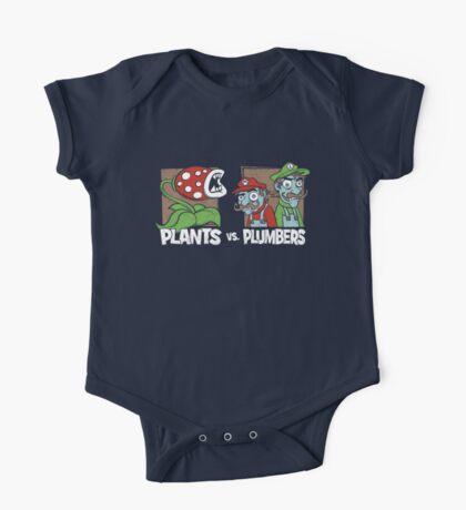Plants Vs Plumbers Kids Clothes