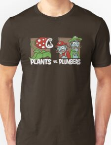 Plants Vs Plumbers T-Shirt