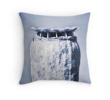 Papaver macro shoot  Throw Pillow