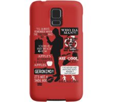 Doctor Who - 11th Doctor Quotes Samsung Galaxy Case/Skin