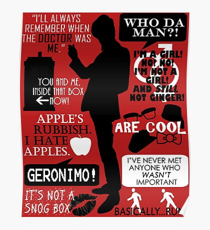 Doctor Who - 11th Doctor Quotes Poster