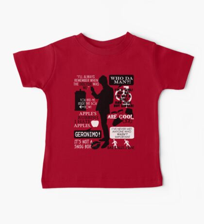 Doctor Who - 11th Doctor Quotes Baby Tee