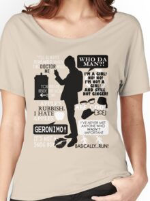 Doctor Who - 11th Doctor Quotes Women's Relaxed Fit T-Shirt
