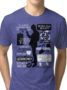 Doctor Who - 11th Doctor Quotes Tri-blend T-Shirt