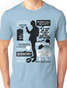 Doctor Who - 11th Doctor Quotes Unisex T-Shirt