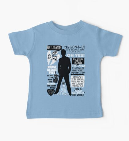 Doctor Who - 10th Doctor Quotes Baby Tee
