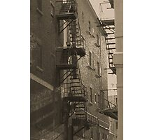 Montreal - Street - Black & White Photographic Print