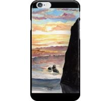 Crashing Sunset iPhone Case/Skin