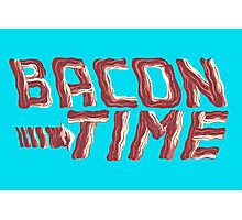 bacon time Photographic Print