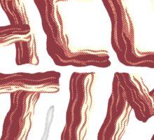 bacon time Sticker