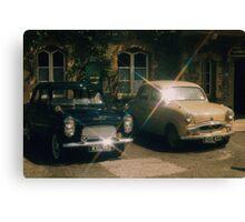 50's motoring Canvas Print