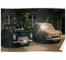 50's motoring Poster