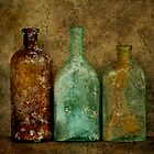Three Old Bottles II by Barbara Ingersoll
