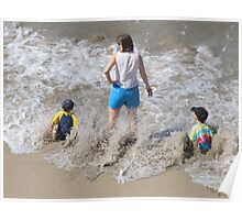 A Wave!!!! - Una Ola!!!!! Poster