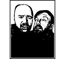 Karl Pilkington and Ricky Gervais Photographic Print